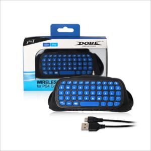 Dobe TP4-022 kontroler tastatura za PS4 plavo-crna
