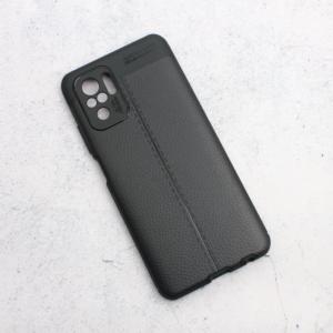 Maska Elegant men Exclusive za Xiaomi Redmi Note 10 4G crna