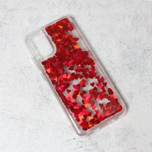 Maska Liquid Heart za Samsung A025G Galaxy A02s (EU) crvena