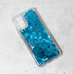 Maska Liquid Heart za Samsung A025G Galaxy A02s (EU) plava