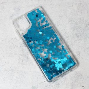 Maska Liquid Heart za Samsung A125F Galaxy A12 plava