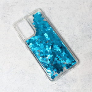 Maska Liquid Heart za Samsung A525F/A526B Galaxy A52 4G/5G (EU) plava