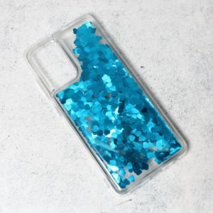 Maska Liquid Heart za Samsung A725F/A726B Galaxy A72 4G/5G (EU) plava
