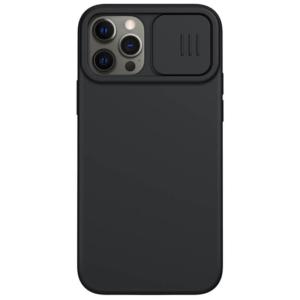 Maska Nillkin CamShield Silky magnetic za iPhone 12/12 Pro 6.1 crna