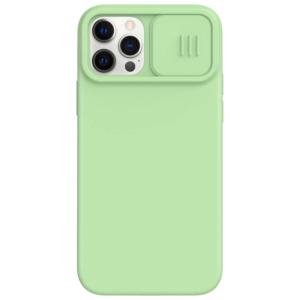 Maska Nillkin CamShield Silky za iPhone 12/12 Pro 6.1 zelena