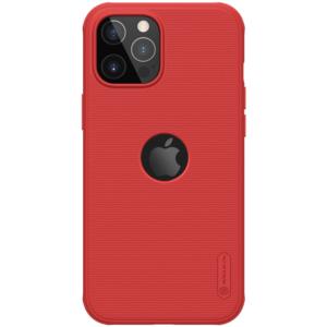 Maska Nillkin Scrub Pro za iPhone 12/12 Pro 6.1 crvena (sa otvorom za logo)