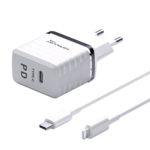 Kucni punjac KONFULON C32D+DC13 20W sa iPhone lightning kablom