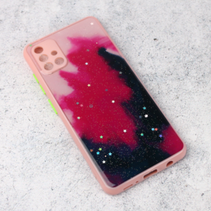 Maska Galaxy za Samsung A515F Galaxy A51 roze