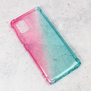 Maska Ice Cube Color za Samsung A515F Galaxy A51 plavo roze