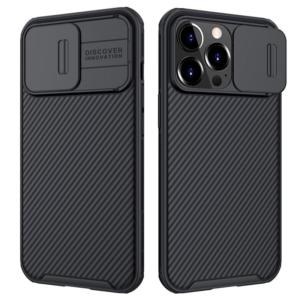 Maska Nillkin CamShield Pro za iPhone 13 Pro 6.1 crna