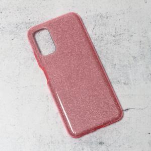 Maska Crystal Dust za Xiaomi Redmi Note 10 5G roze