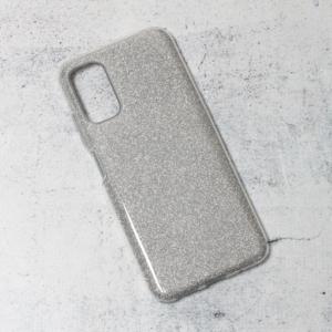 Maska Crystal Dust za Xiaomi Redmi Note 10 5G srebrna