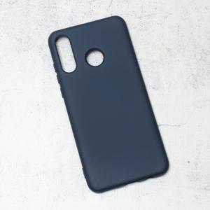 Maska Nano Silikon za Huawei P30 Lite tamno plava