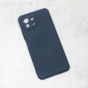 Maska Nano Silikon za Xiaomi Mi 11 Lite tamno plava