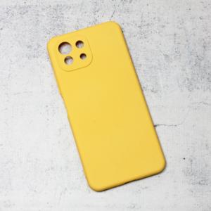 Maska Nano Silikon za Xiaomi Mi 11 Lite zuta