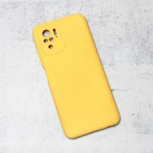 Maska Nano Silikon za Xiaomi Redmi Note 10 4G/Note 10s zuta